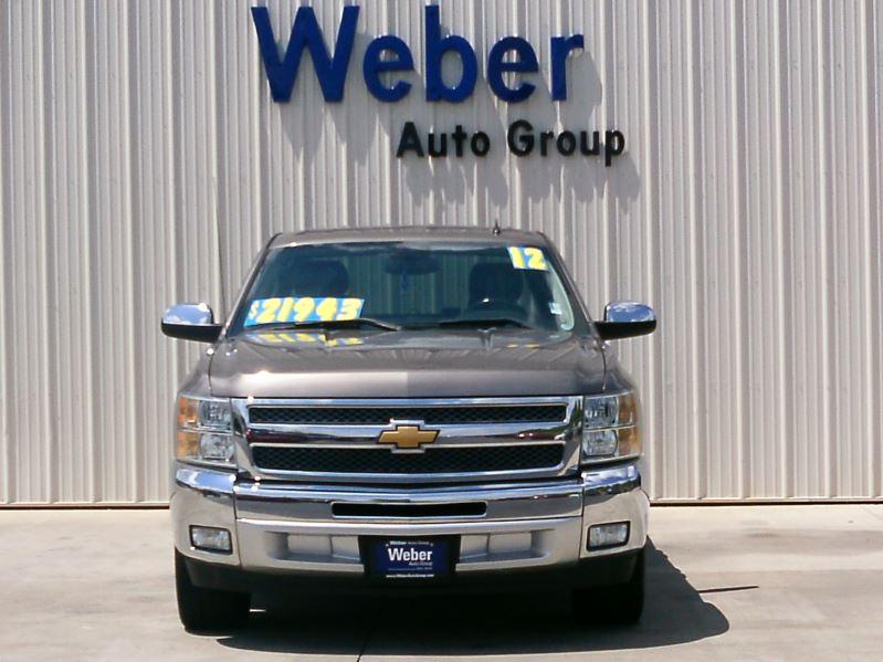 2012 Brown Chevrolet Silverado Texas Edt.
