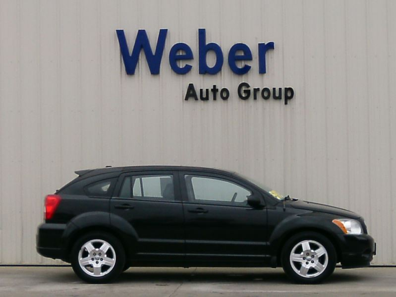 2009 Black Dodge Caliber Sxt