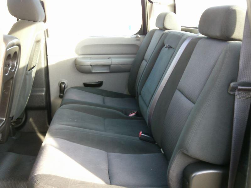 2011 Blue Chevrolet Silverado 3500hd