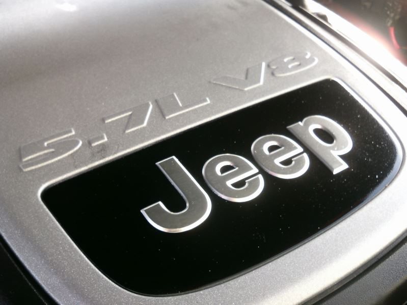 2005 Red Jeep Grand Cherokee