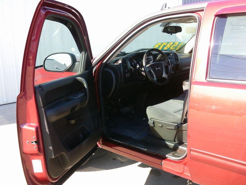2009 Maroon Gmc Sierra 1500 Sle